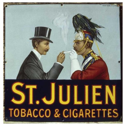 St. Julien hace que la amistad cruce fronteras(1910)