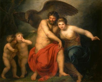Los hermanos Zeus y Hera, tambiénpareja